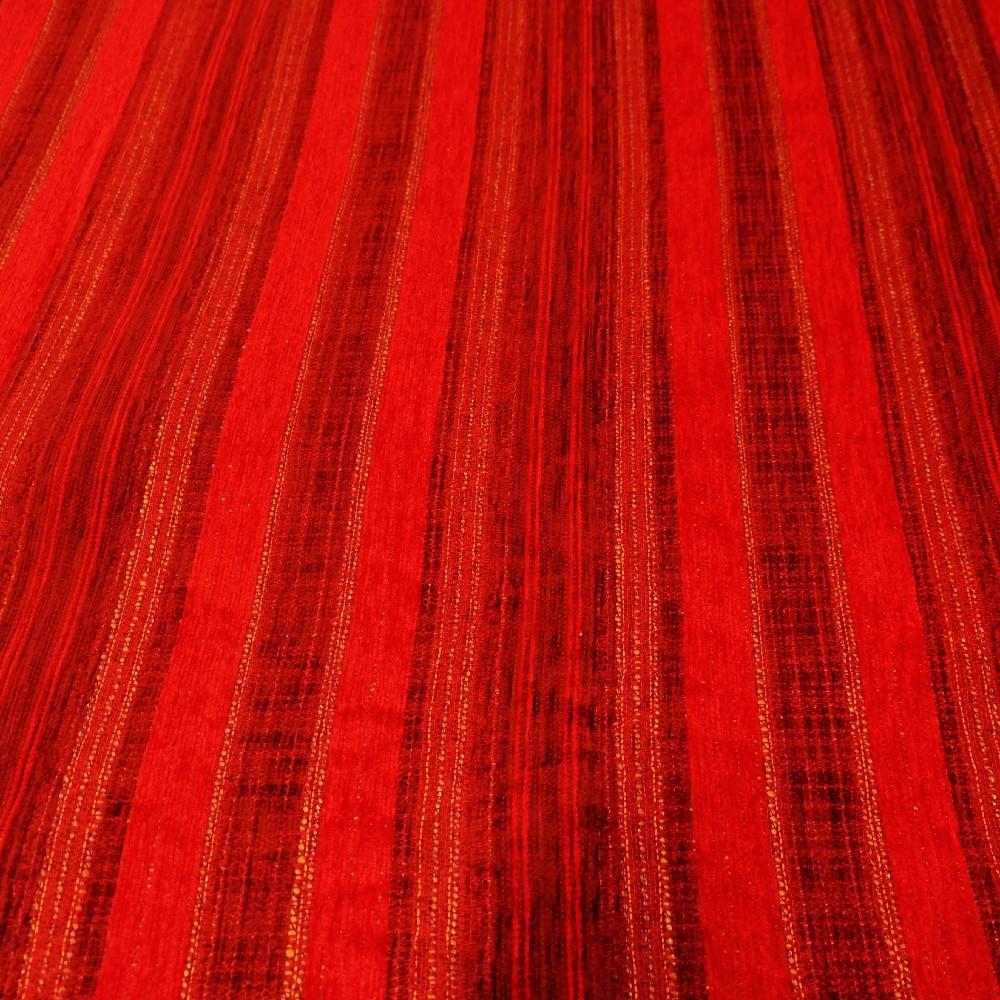 potahovka červeno vínové proužky