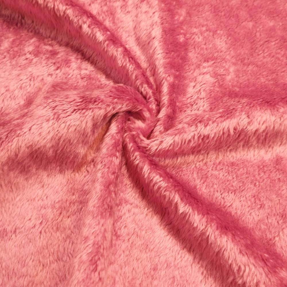 plyš TERAN 501 tm.růžový