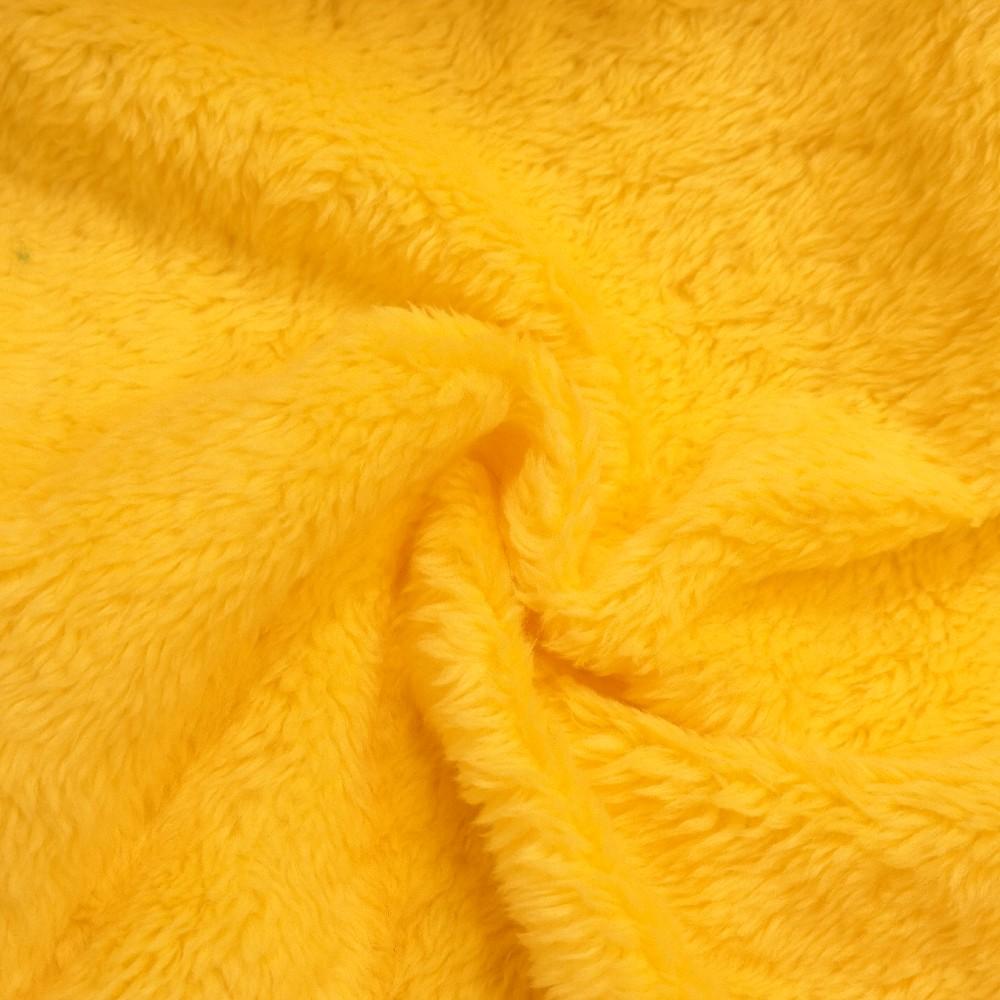 plyš Teran268 žlutá   š.150cm