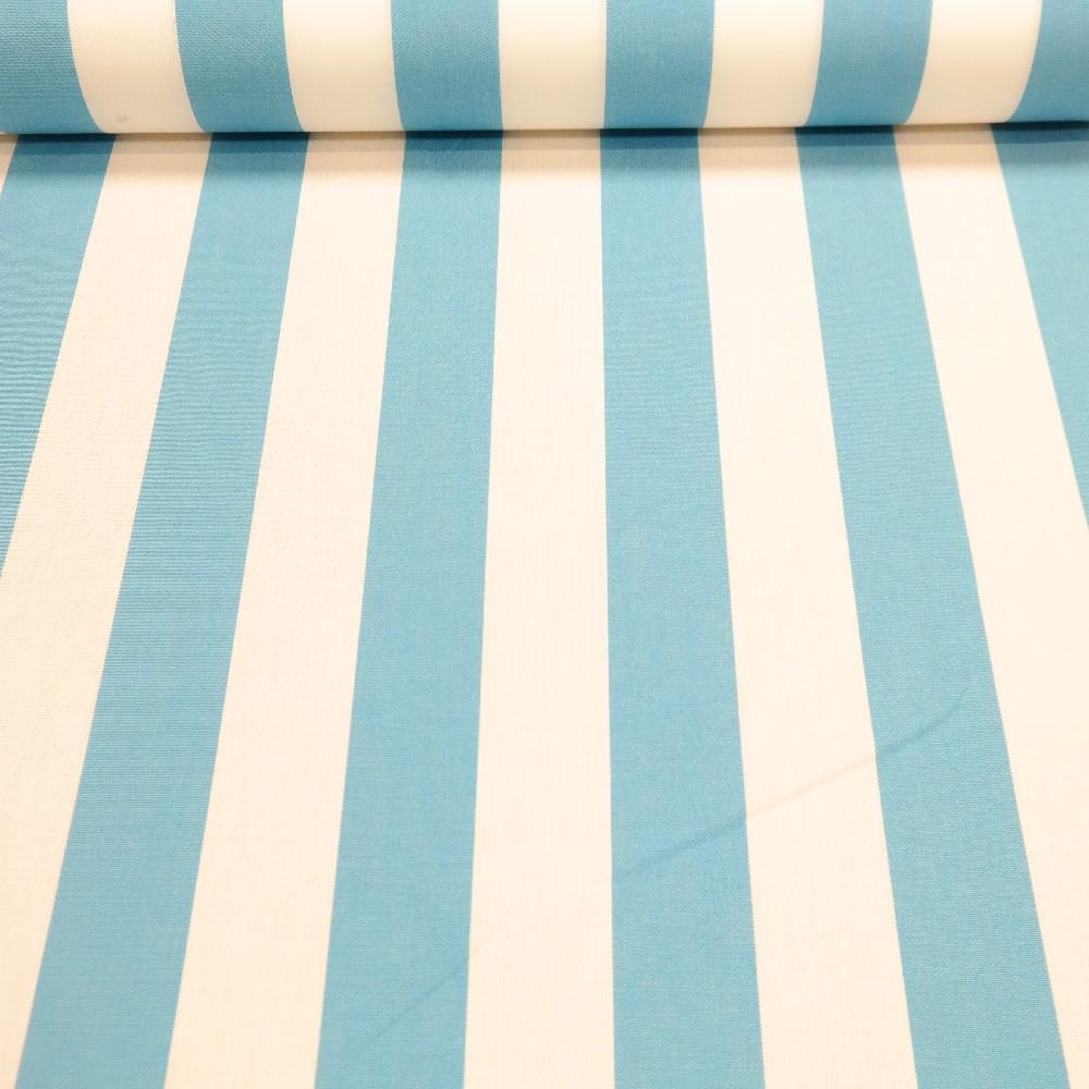 slunečníkovina modro-bílý pruh /5 cm/