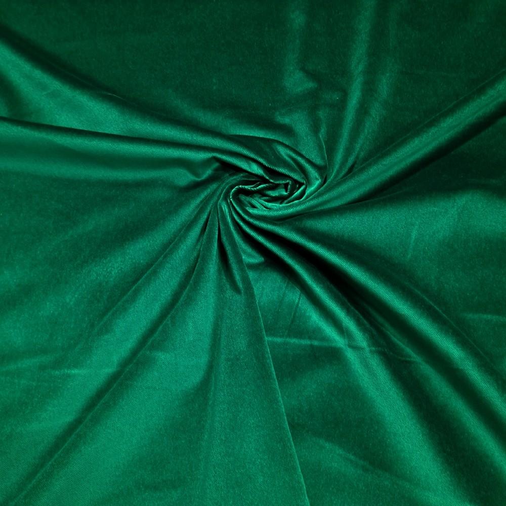samet zelený š155 Garbo