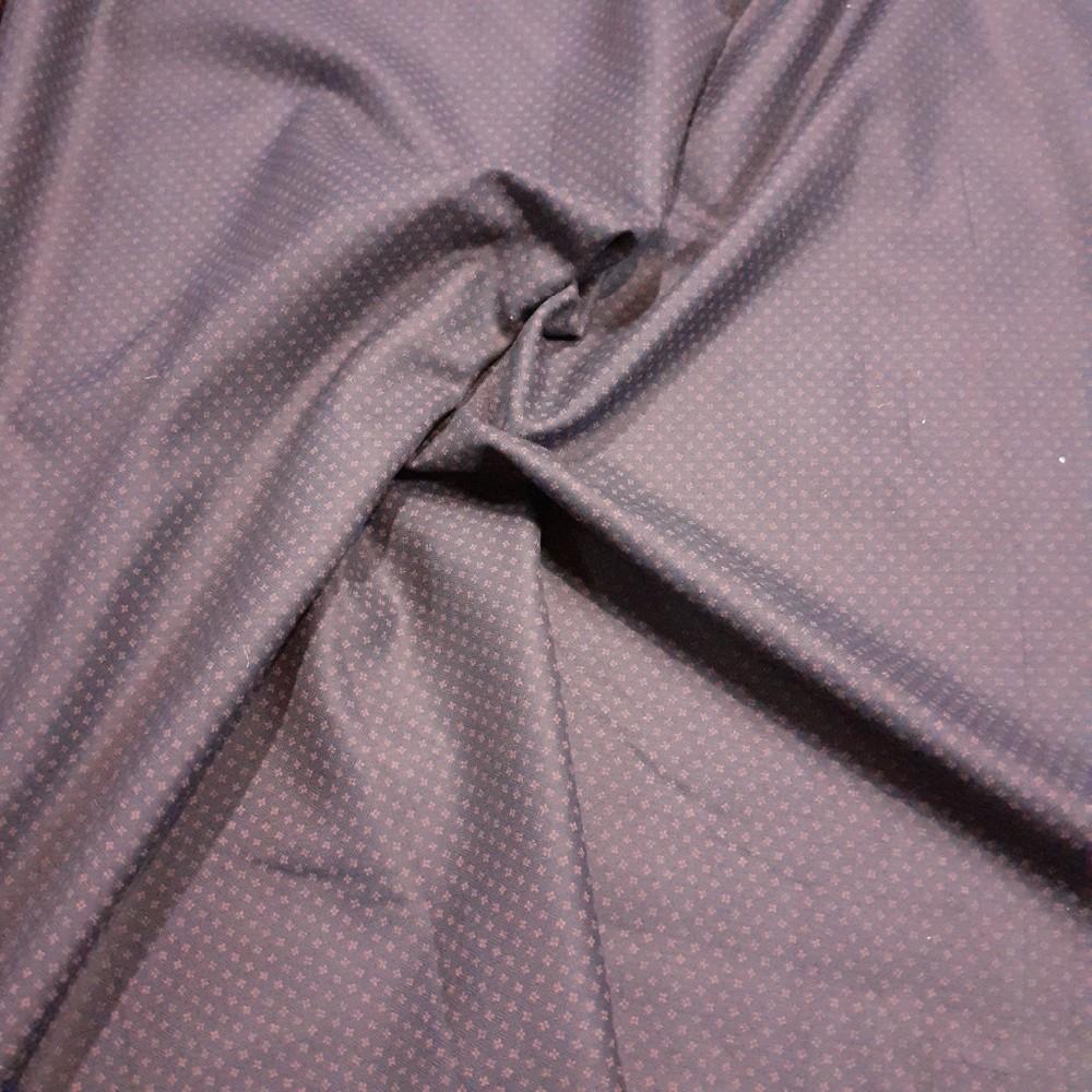 košilovina jemný červ.vzor