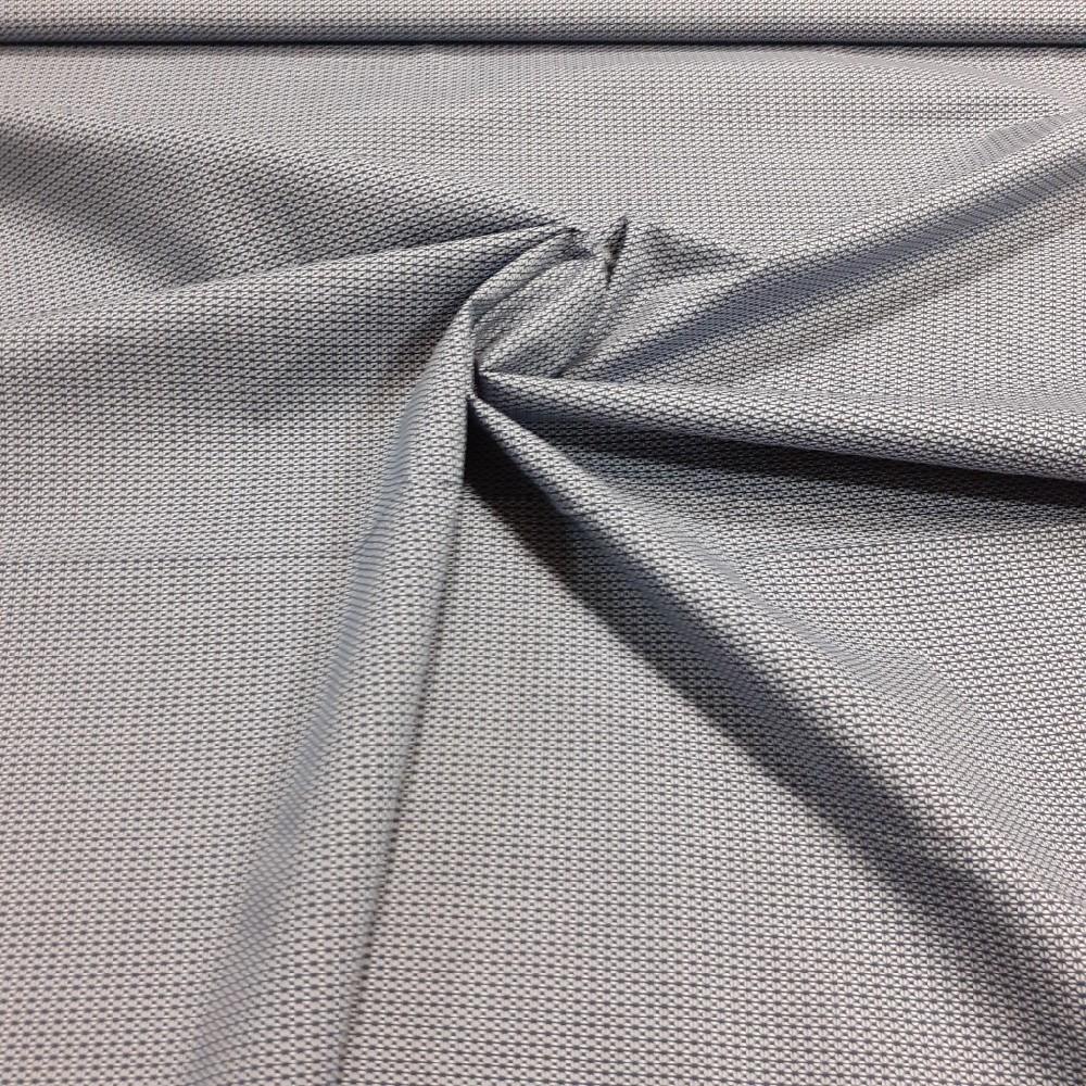 košilovina šedá jemný vzor