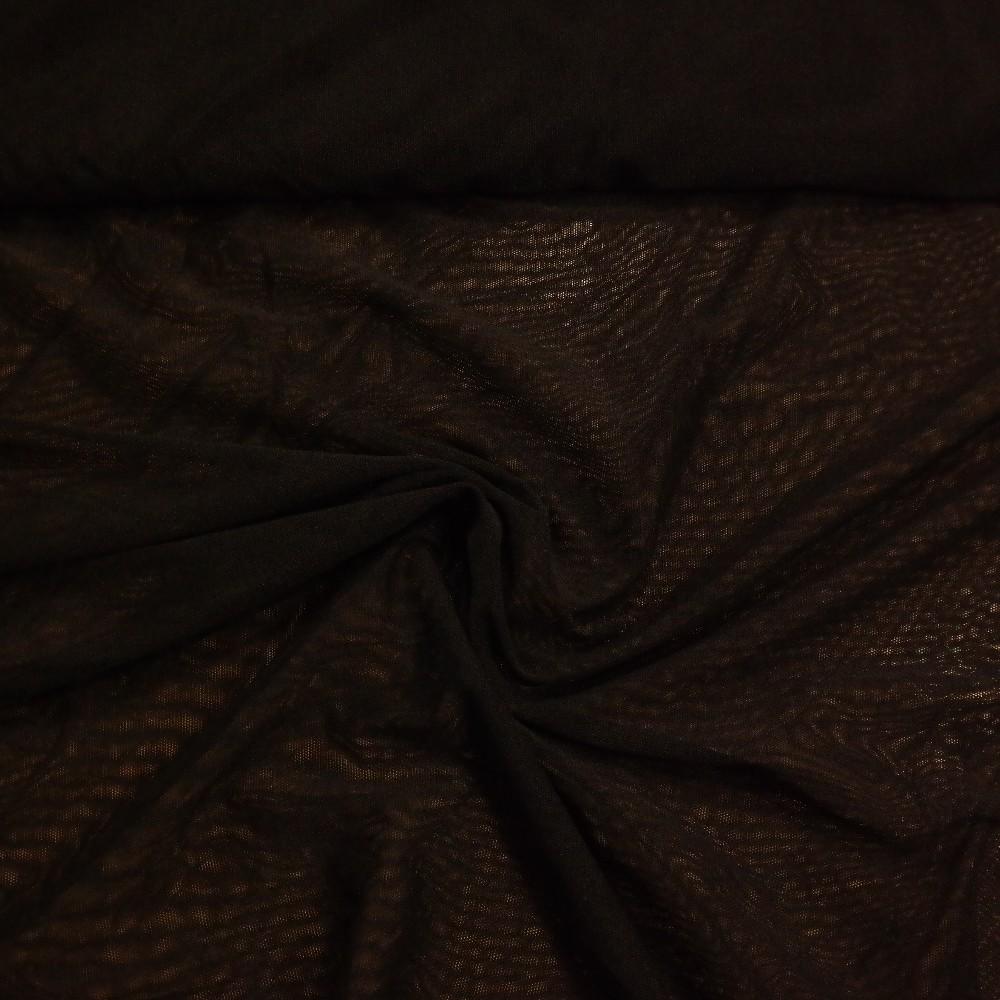 tyl černý jemný