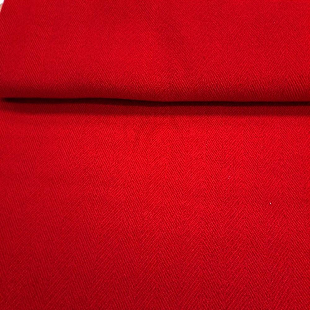 kabátovina červená