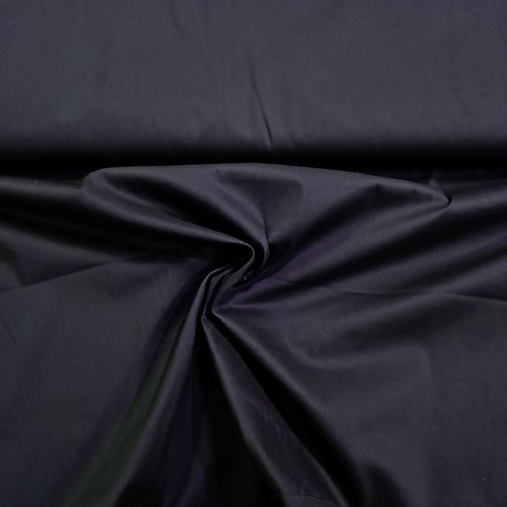 bavlna oděvní s elastenem tm.modrá