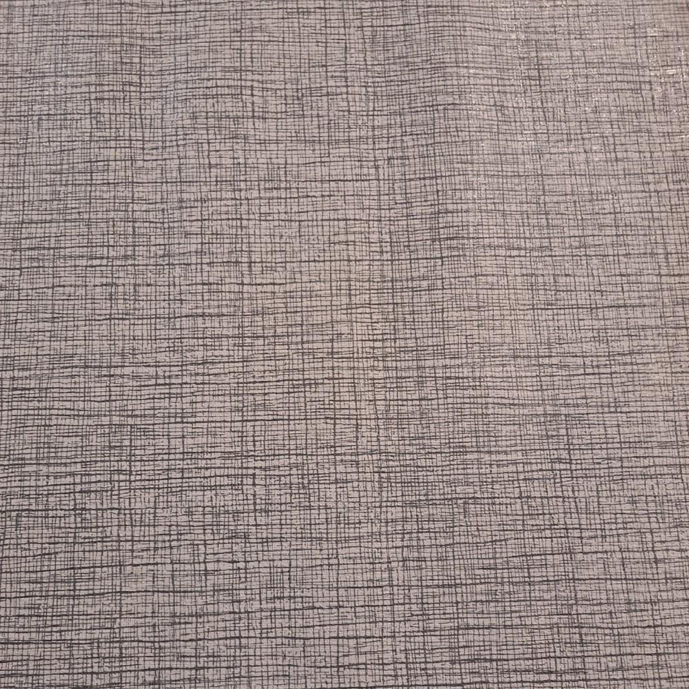 ubrus PVC šedé žíhání