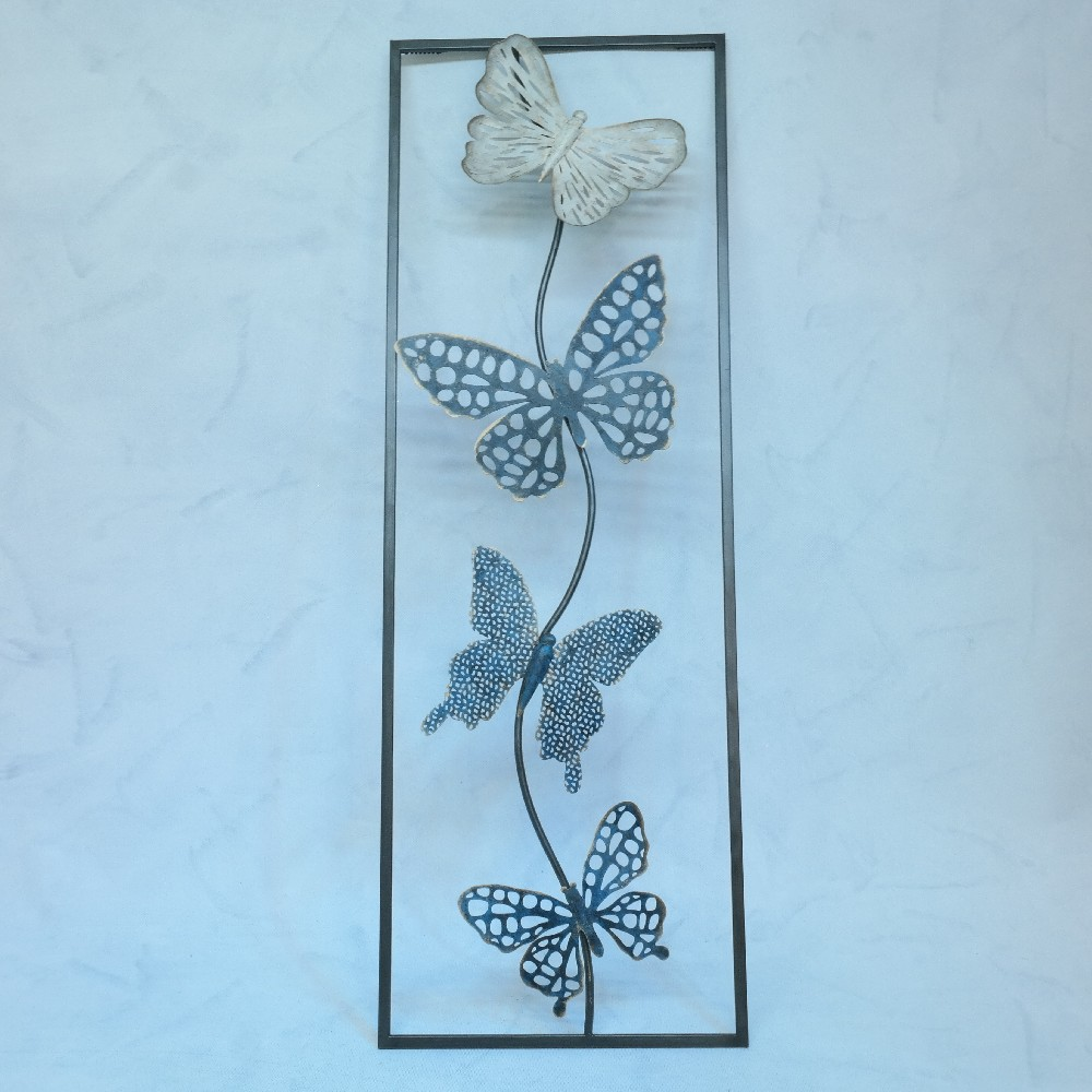 kovová dekorace 31x90cm