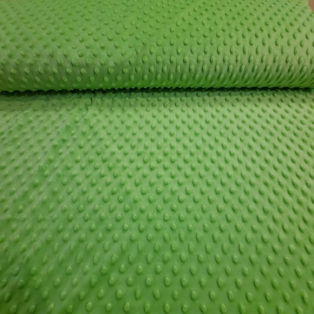 minky zelené světle