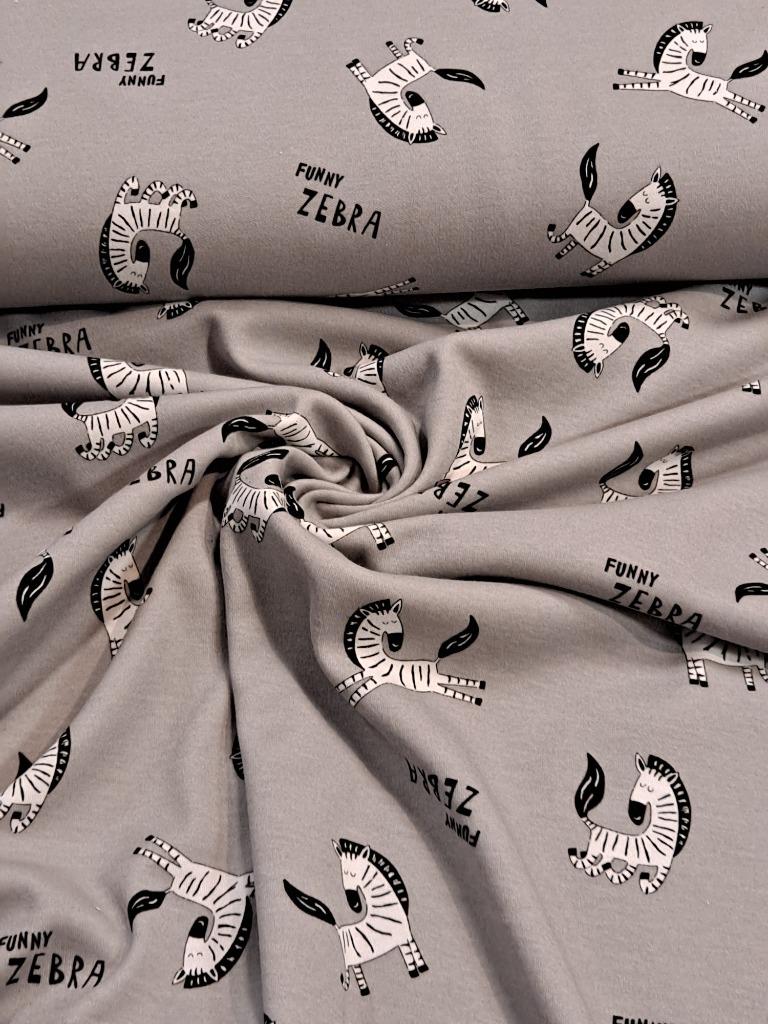 úplet šedý zebry BA