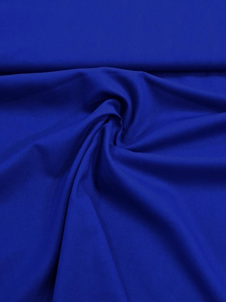 popelín modrý