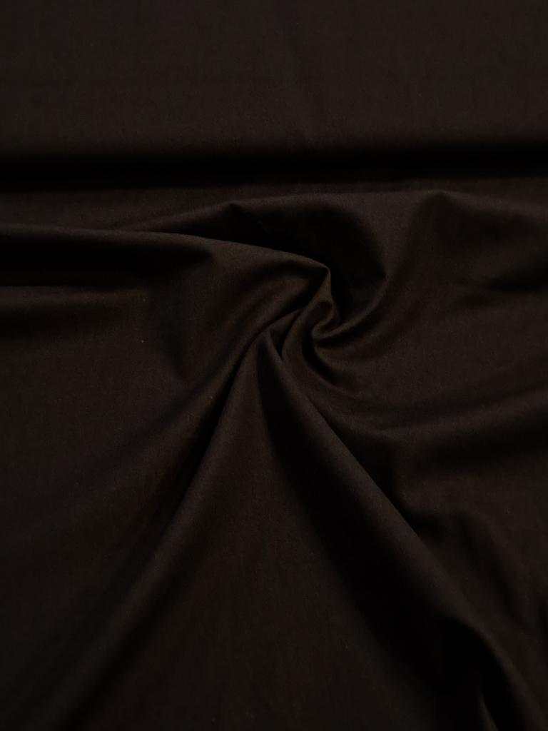 popelín černý
