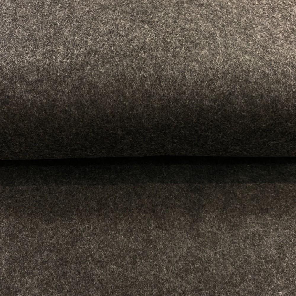 filc šedý melír 1mm
