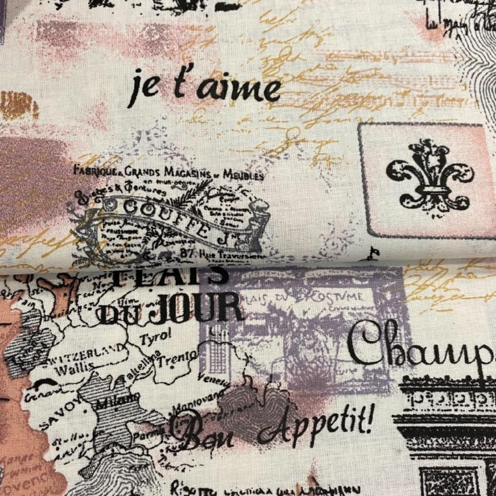 bavlna  paříž145cm