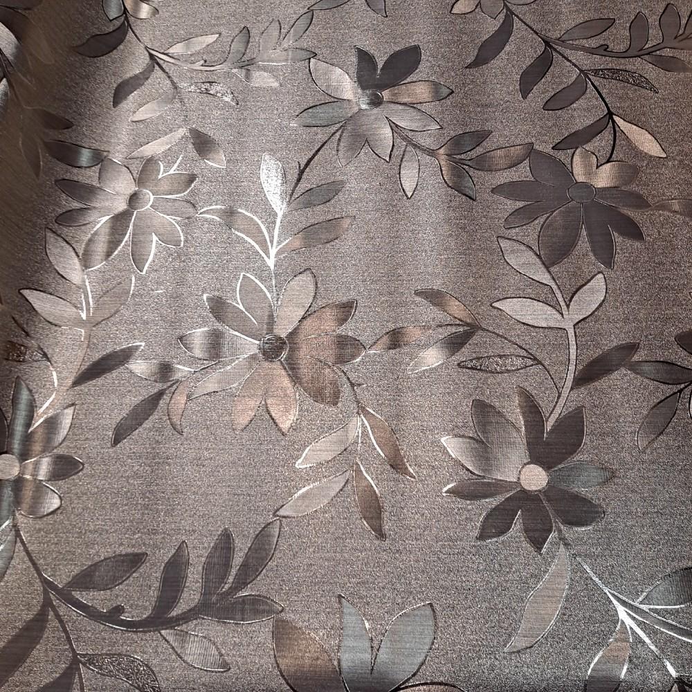 ubrus PVC metal květ
