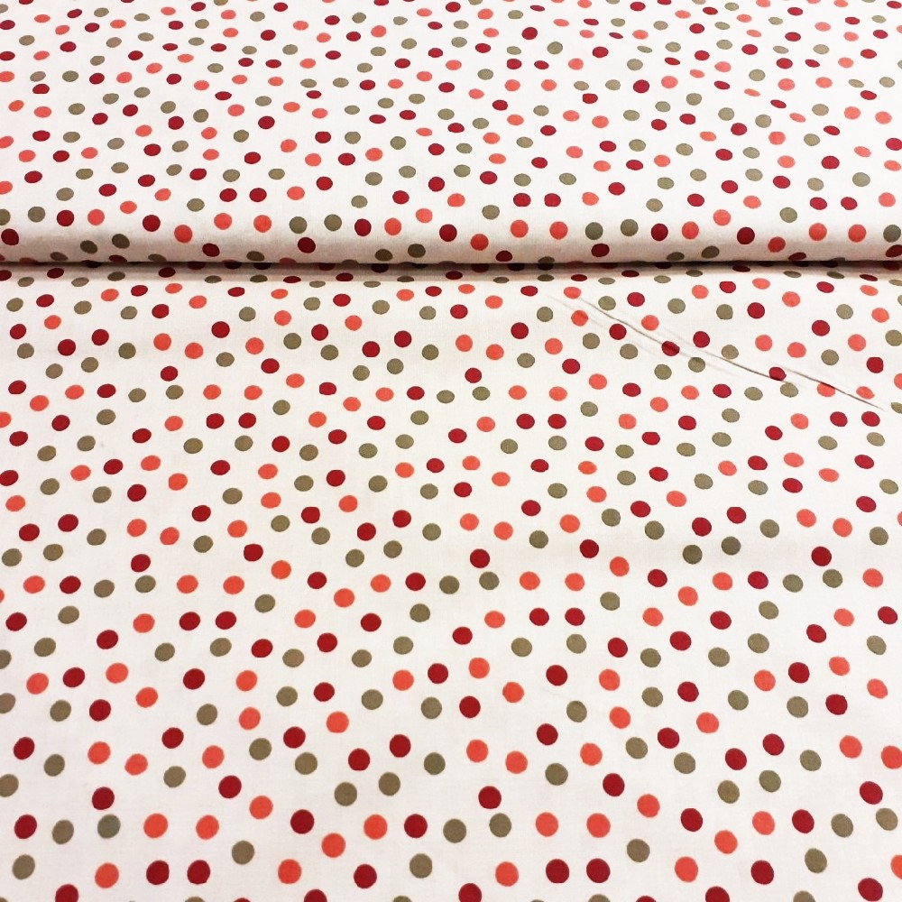 bavlna smet.barev.puntík