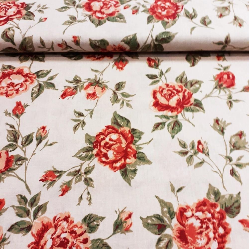 bavlna smet.růže