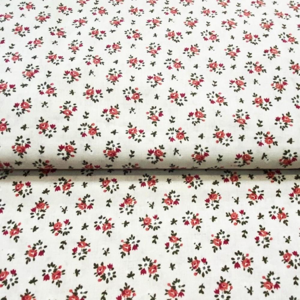 bavlna krénová barev.puntík