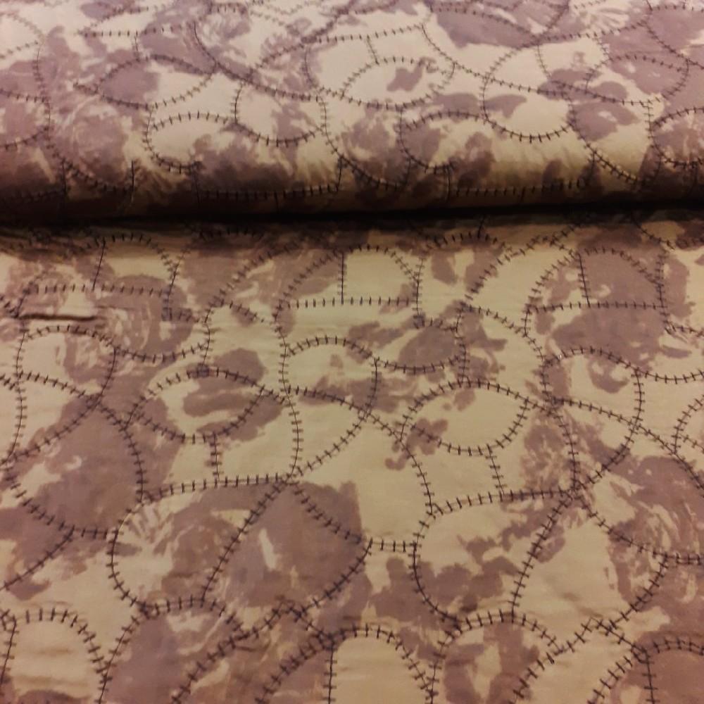 prošev hnědý batik