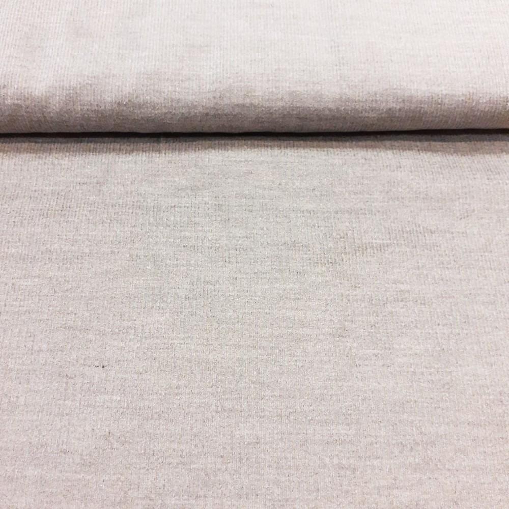 manšestr šedý melír