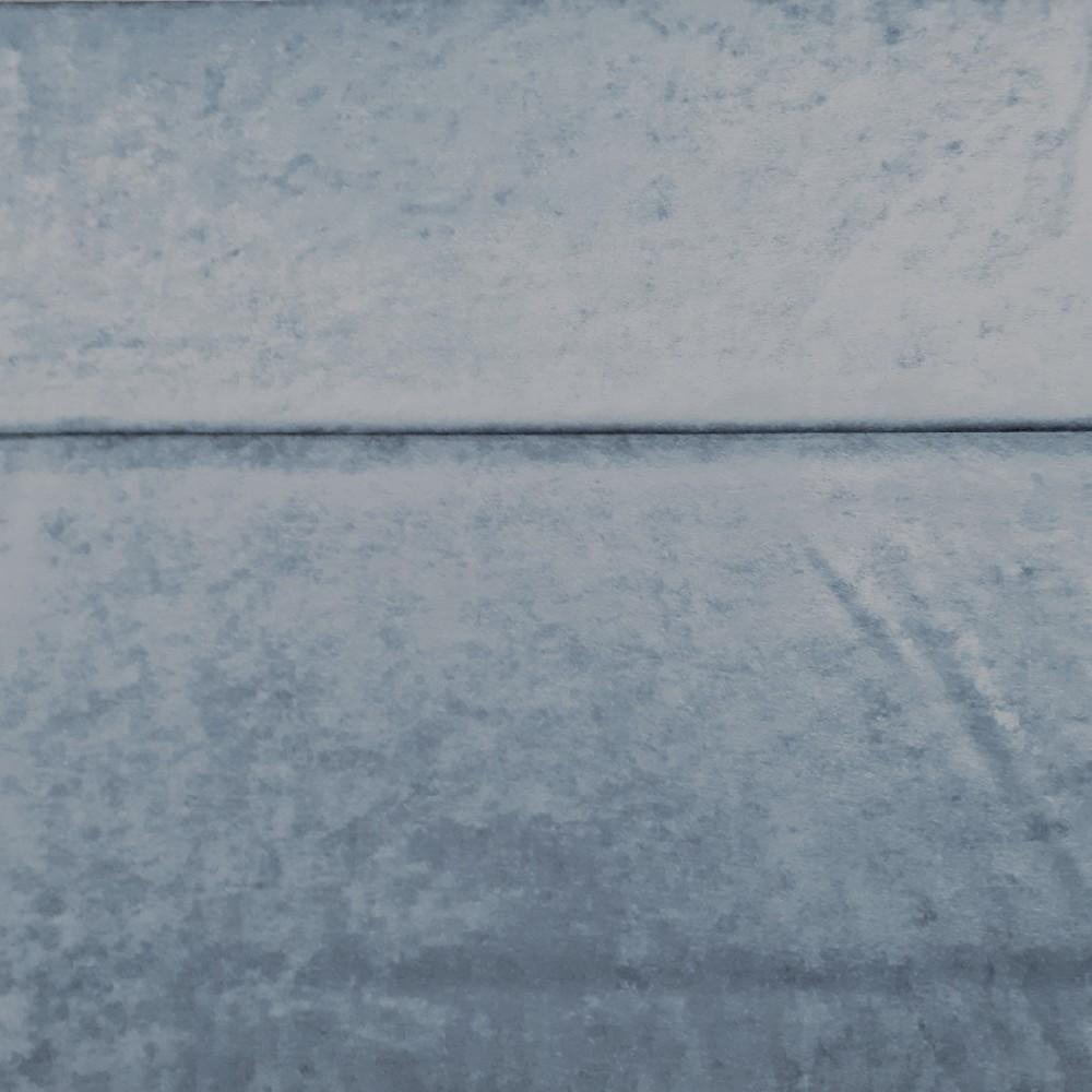 samet modrostříbrný