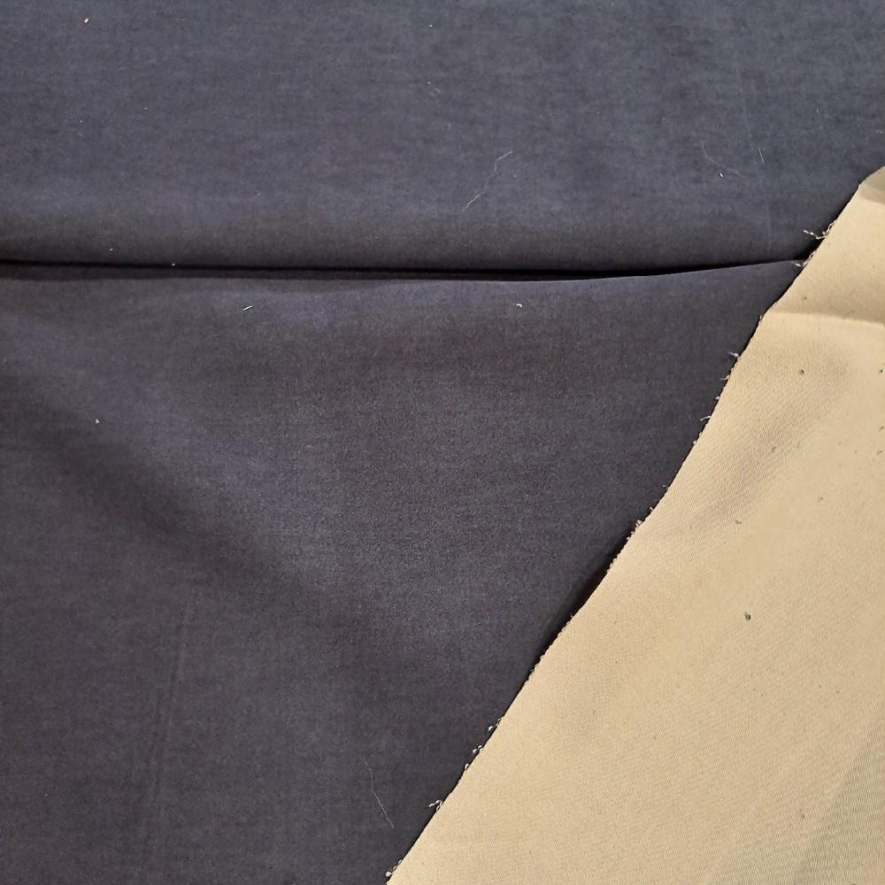 dyftýn modrý, bílý z rubu