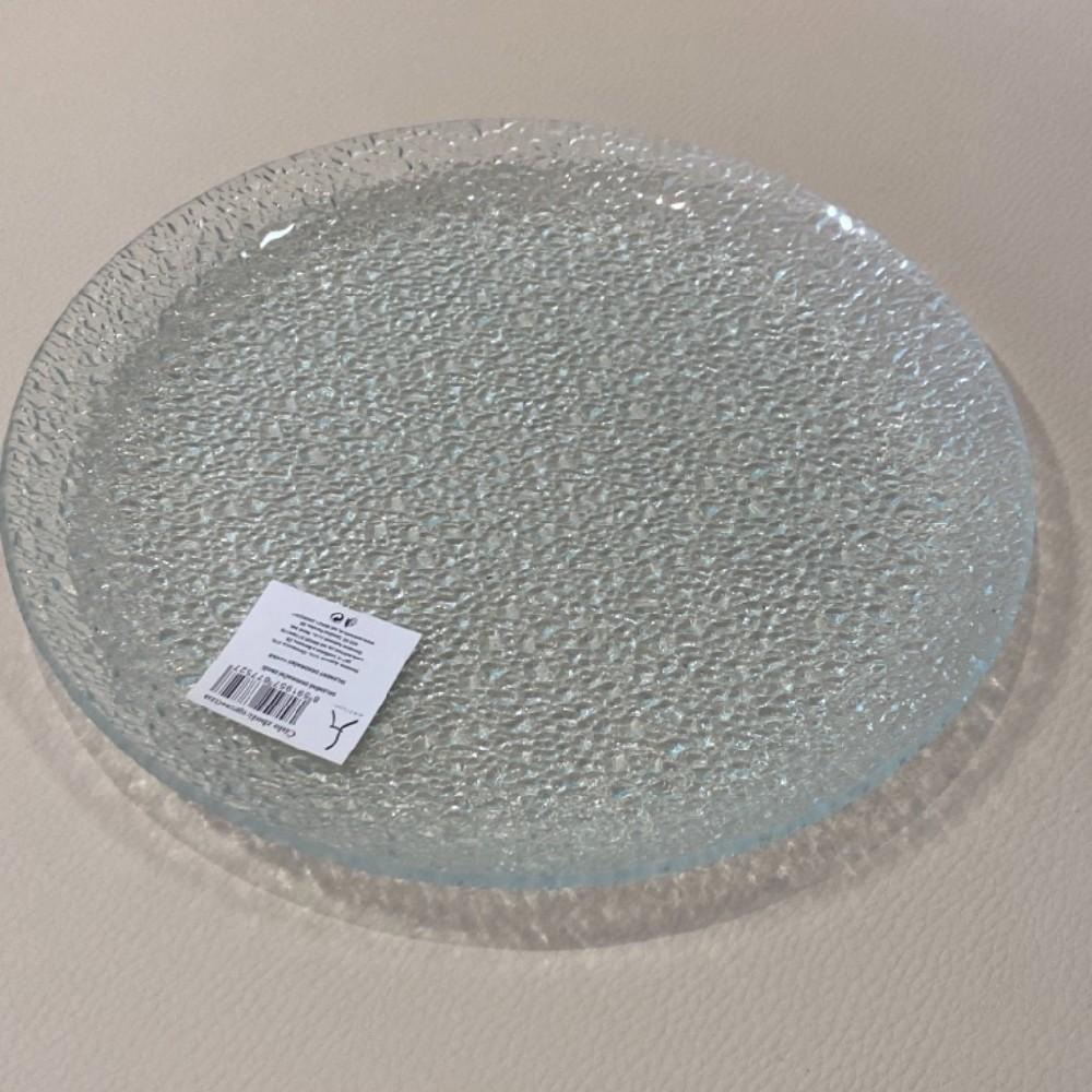 tác sklo kulatý  25cm