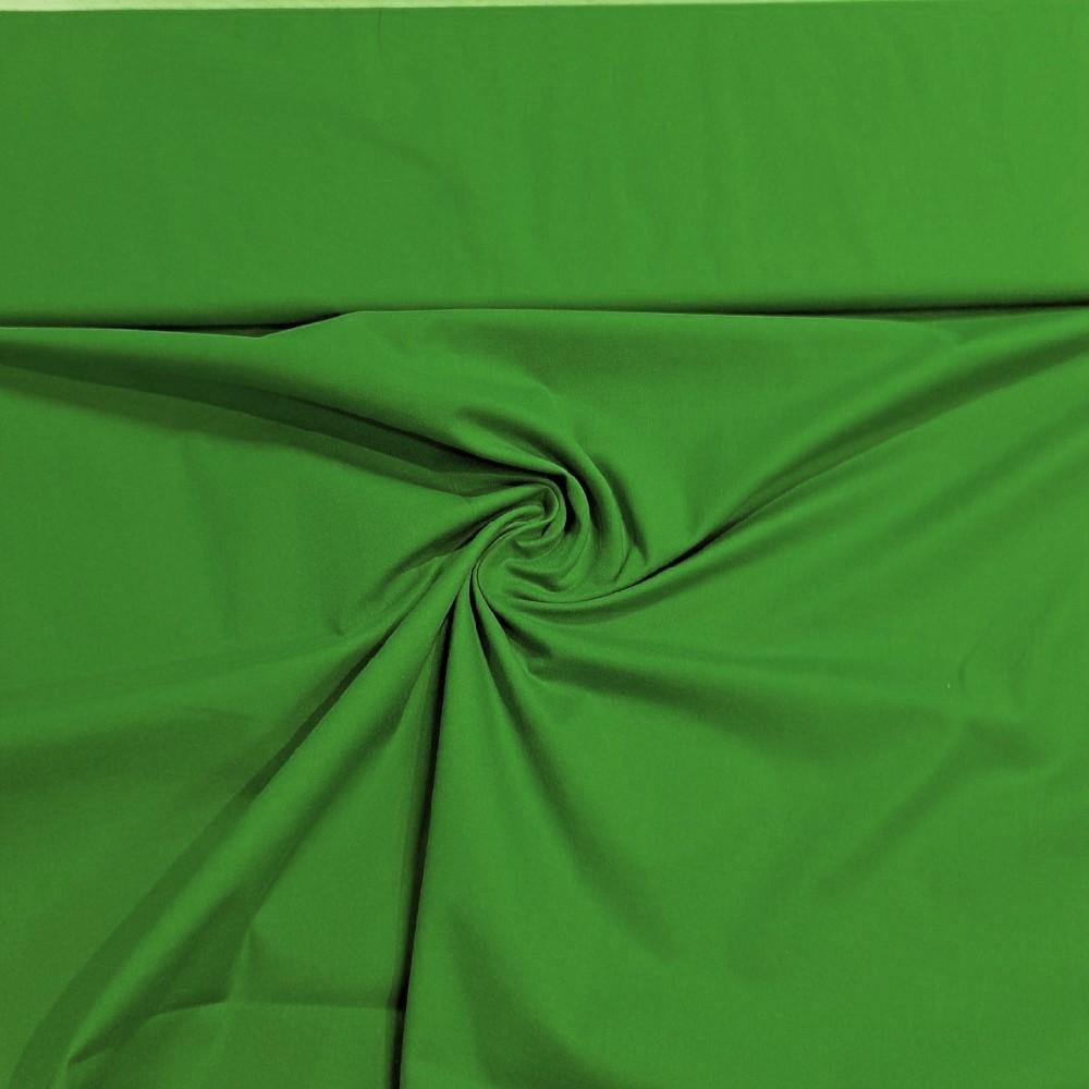 bavlna zel.jablko elastická š.130 cm