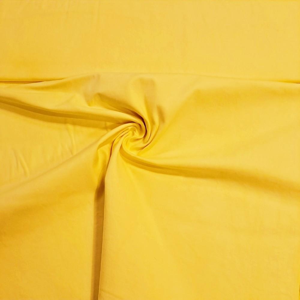 bavlna kalhot. elast. žlutá