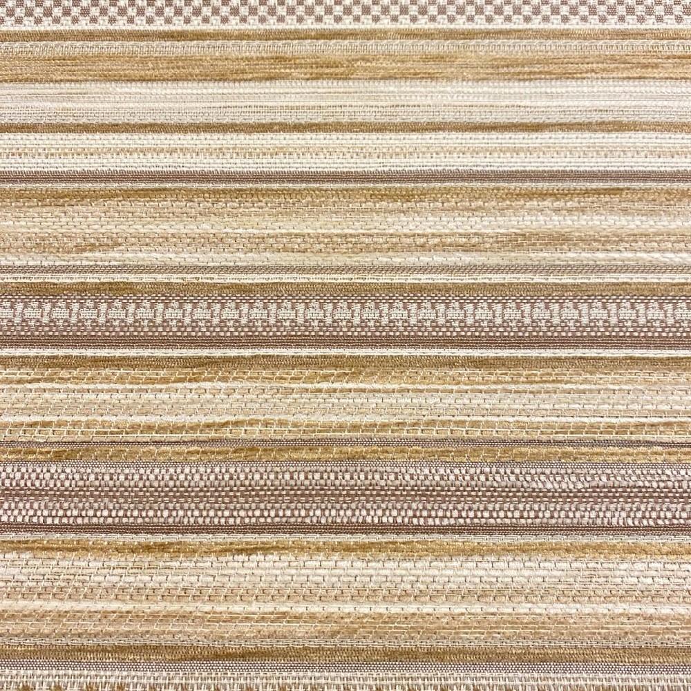 potahovka proužky krém/béž/hnědé  žinilková140cm