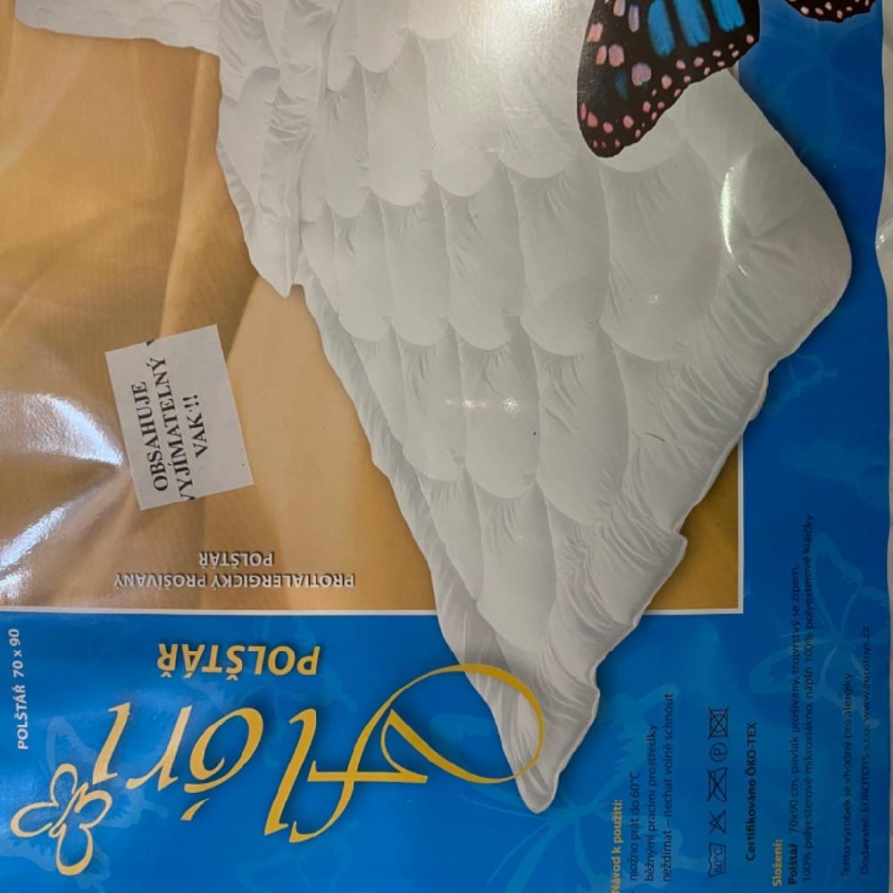 polštář ložní 70x90 vyjímatelný Eurotoys