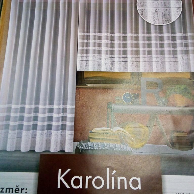 záclona hotová  Fo Karolína 300x150