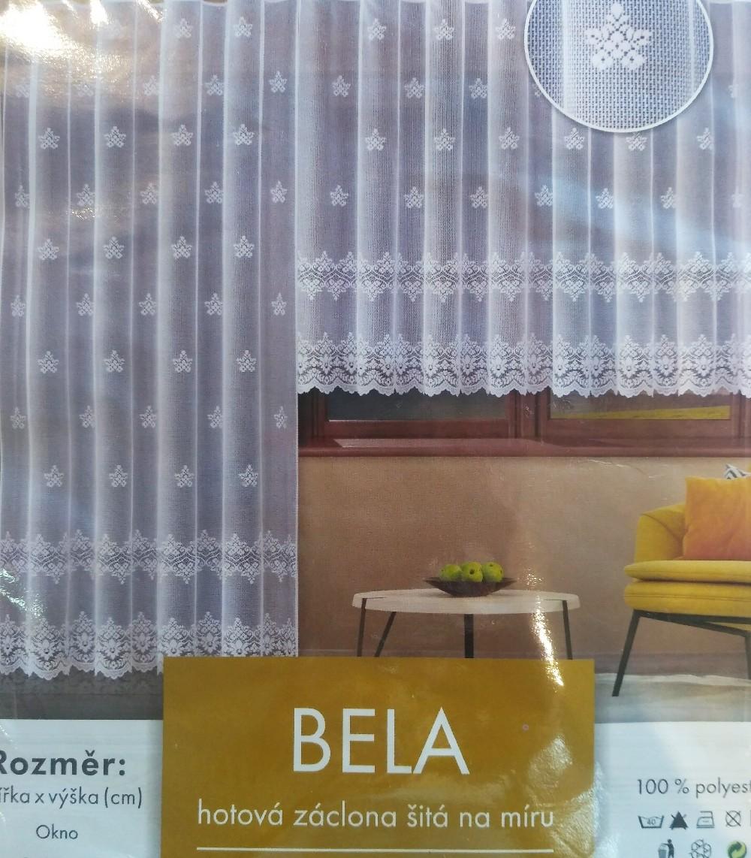 záclona hotová Fo  Bela 400x160