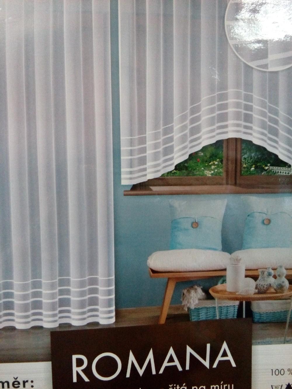 záclona hotová  Fo Romana 300x150