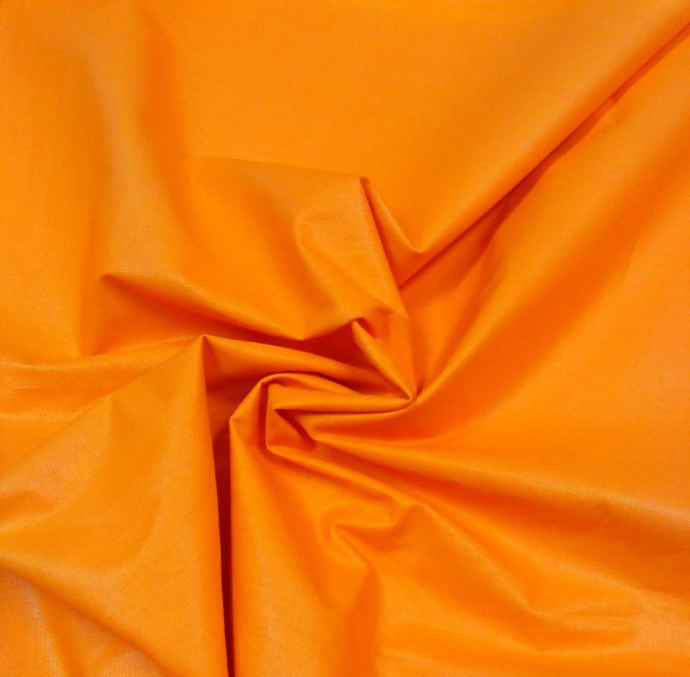 bavlna oranžová 160 cm