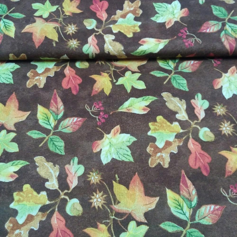 bavlna listy 110 cm