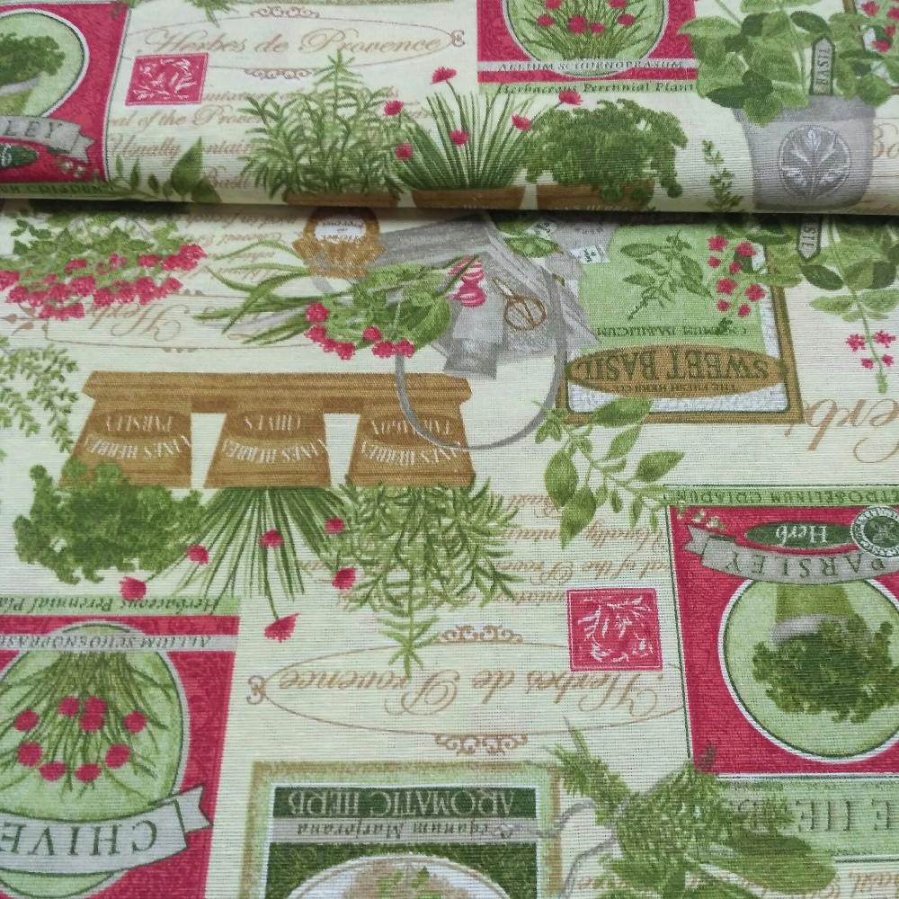 dekoračka Botanic-bylinky oreg.chives