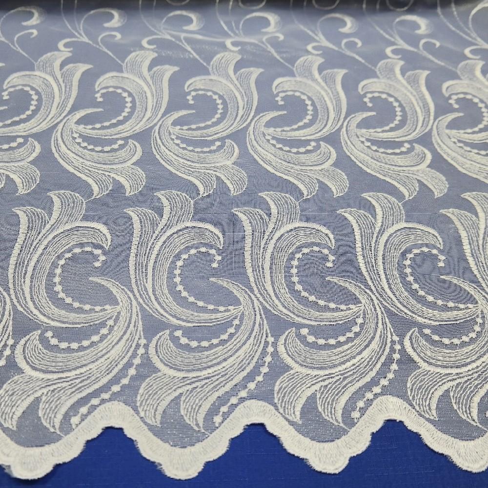 záclona vyšívaná v.280cm 13798