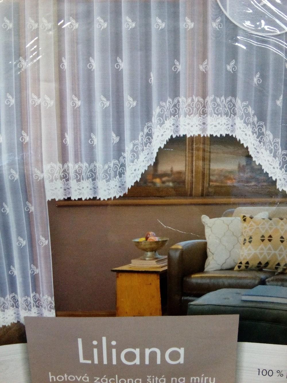 záclona hotová Fo Liliana 350x160