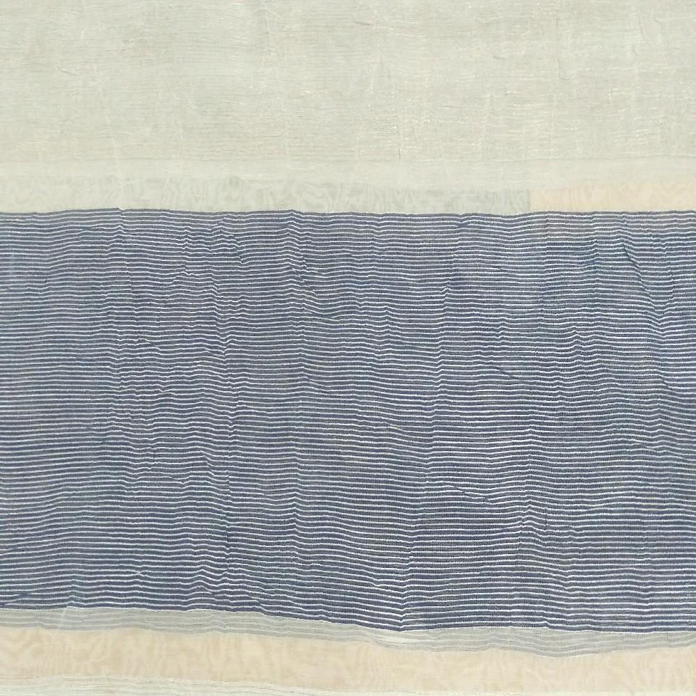 dekoračka Lejan šedomodrýpruh š.130cm