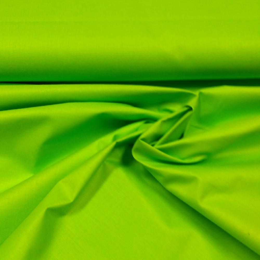 bavlna zelená  160 cm