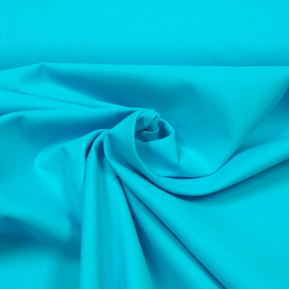 bavlna  tyrkysová 160 cm