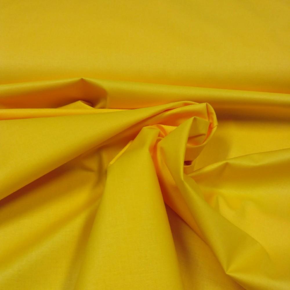 bavlna světle žlutá 160 cm