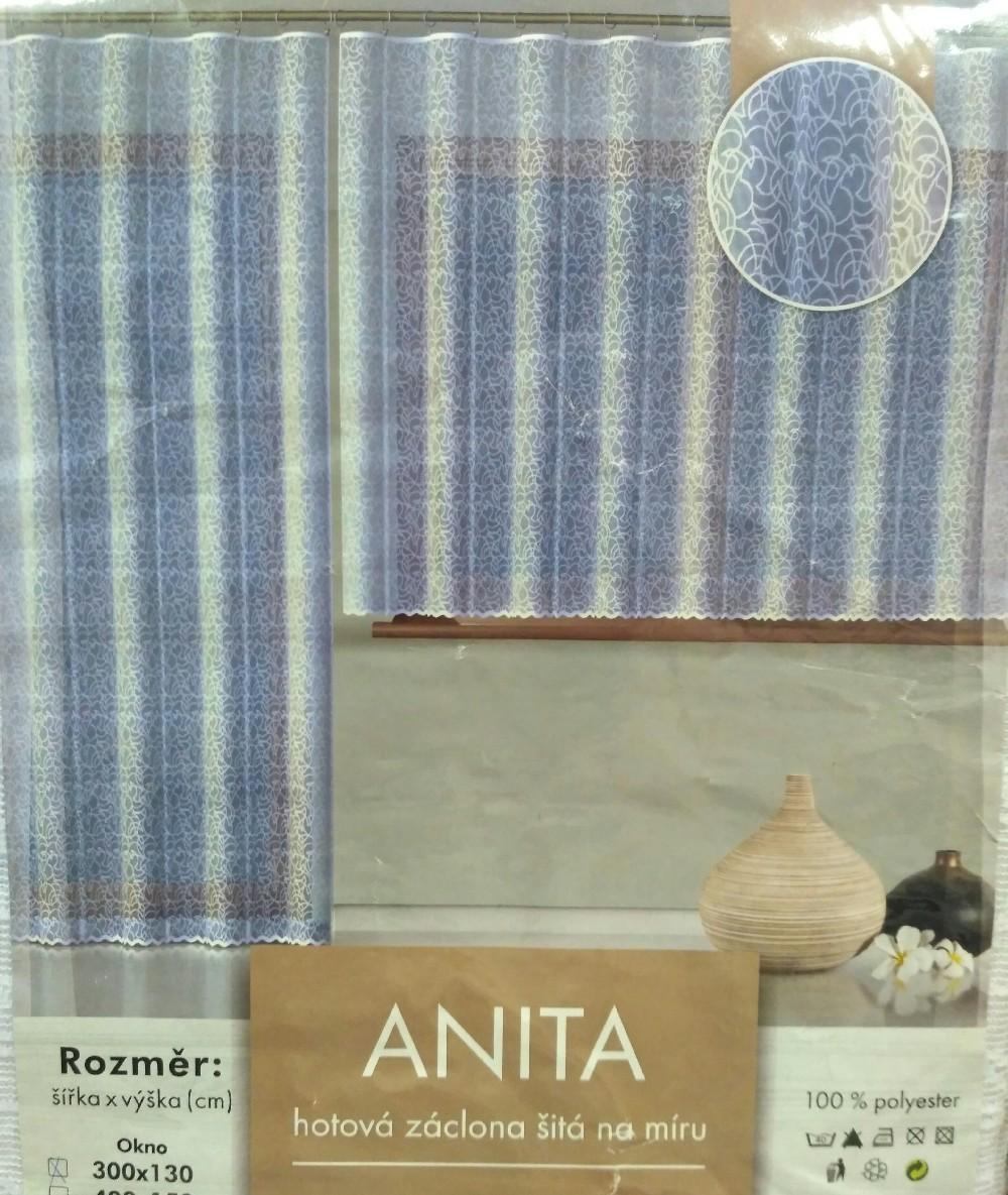 záclona hotová Fo Anita 300x130