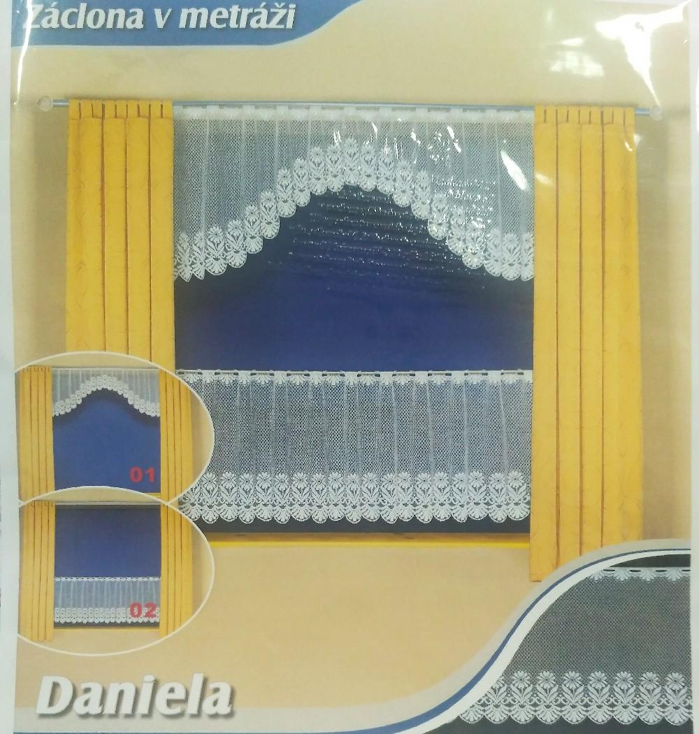 záclona hotová T Daniela 180x60