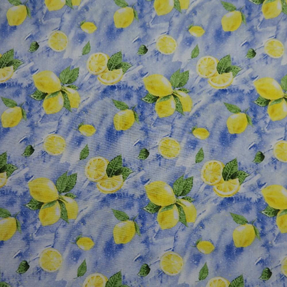 bavlna citróny 110 cm