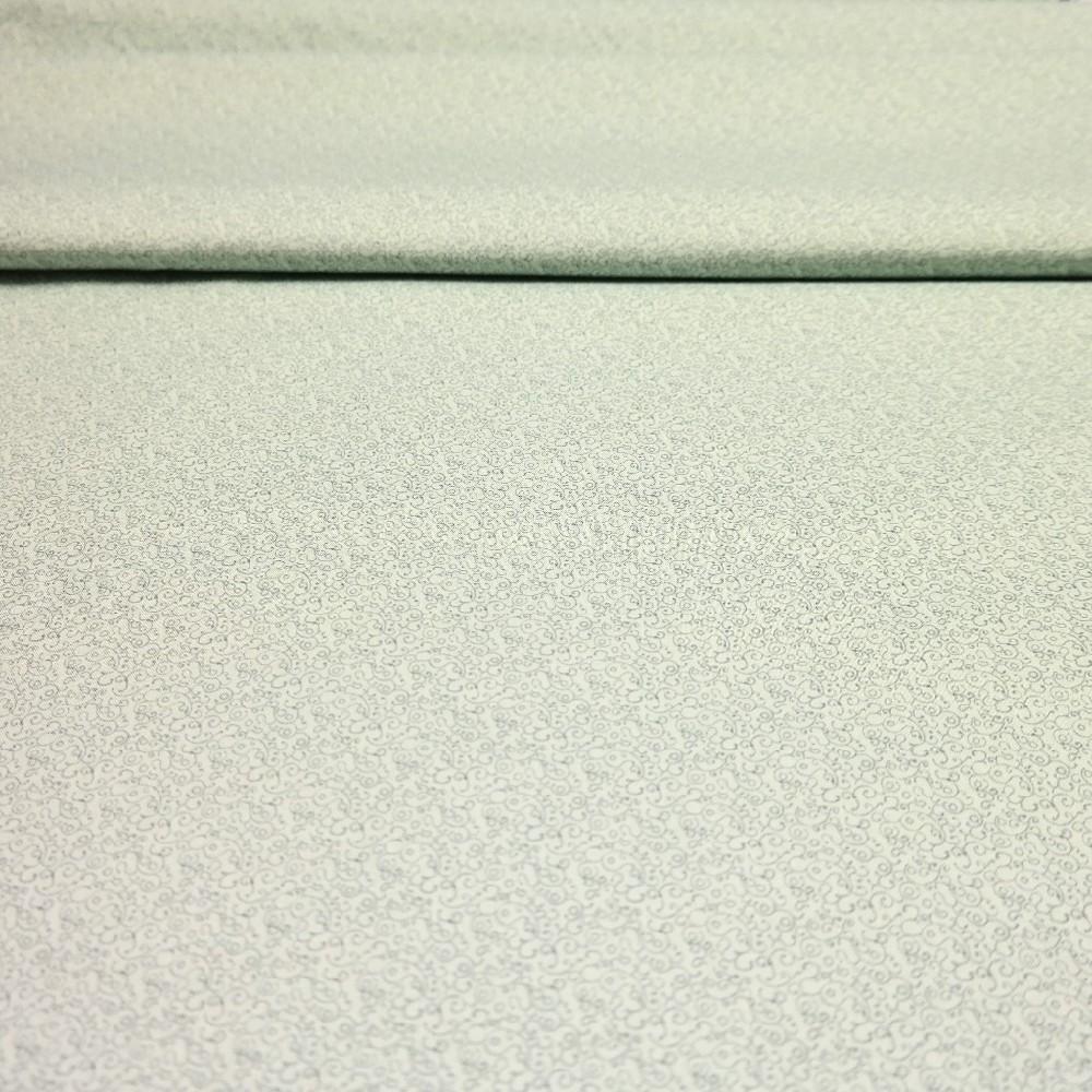 bavlna zelenkavá ornament 110 cm
