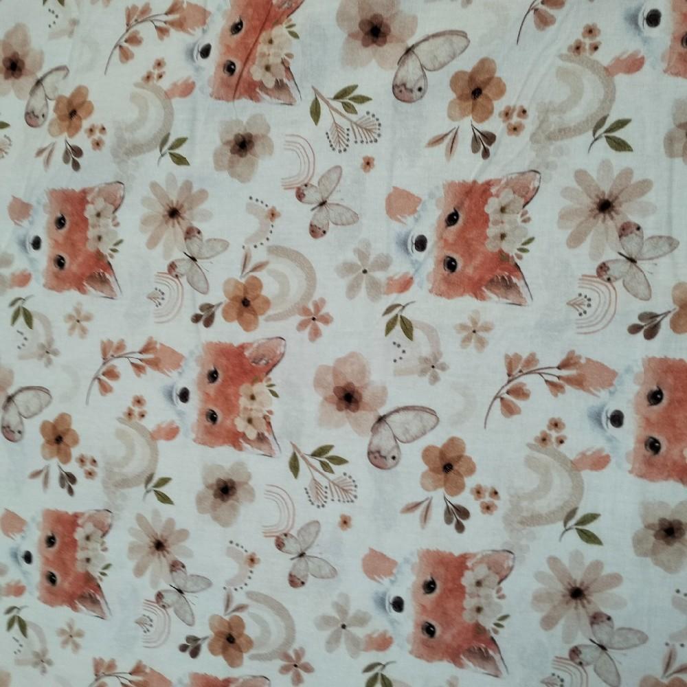 bavlna kolečka 110 cm