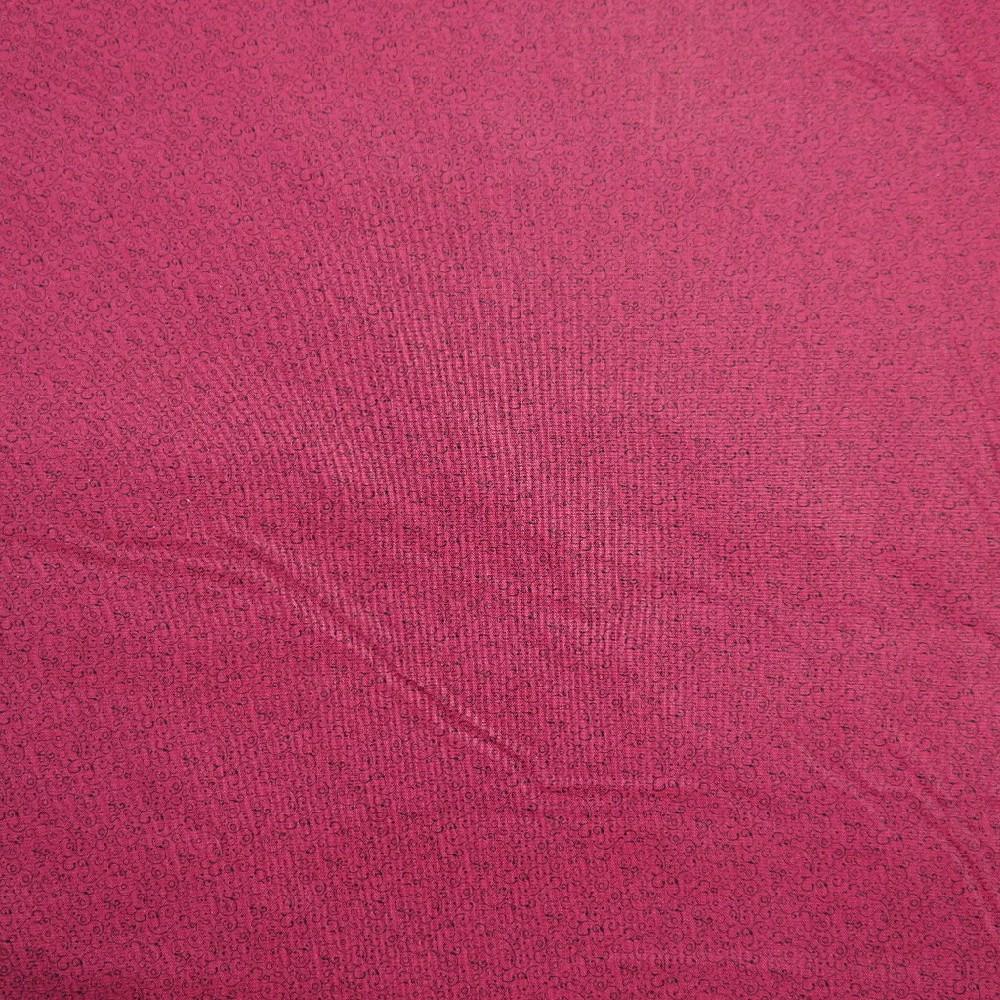 bavlna bordo ornament 110 cm