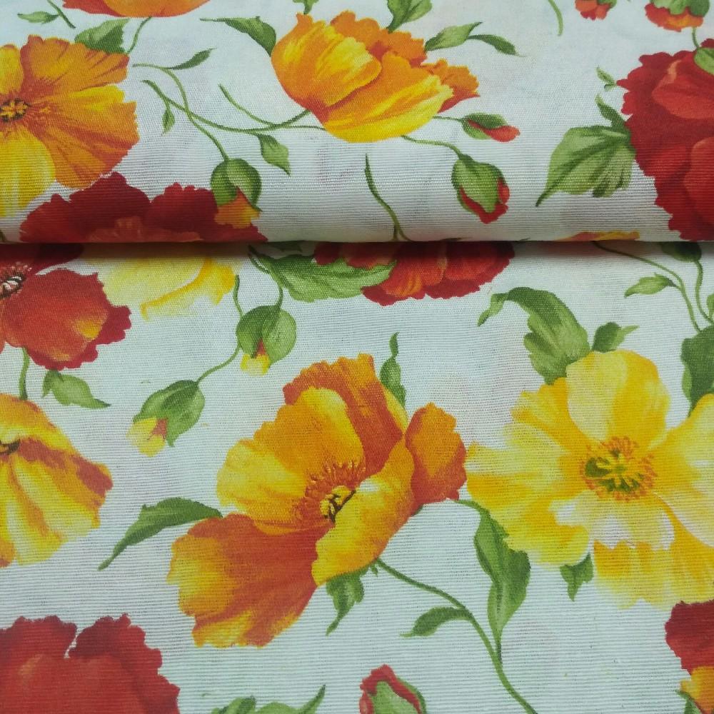 dekoračka červené květy 22170/3001